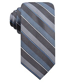 Men's Bragg Slim Stripe Tie, Created for Macy's