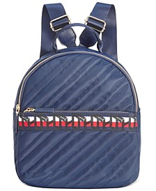 Penny Quilted Nylon Backpack