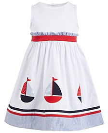 Toddler Girls Sailboat Dress