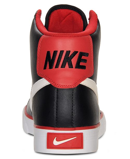 buy online dd4eb 50437 ... Nike Men s Sweet Classic Leather High Top Sneakers from Finish ...