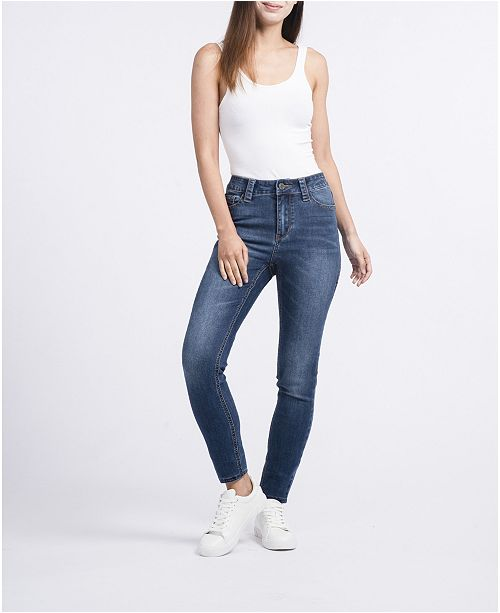 Rubberband Stretch Ladies Sustainable Skinny Jeans