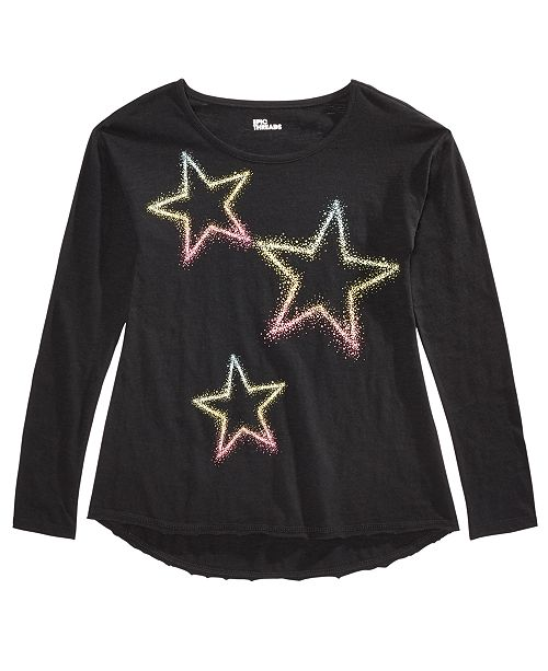 Epic Threads Big Girls Neon Star T-Shirt, Created for Macy's