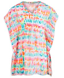 Big Girls Tie-Dye Cover Up