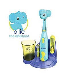 Kids Electric Toothbrush Elephant Set