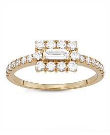 Diamond (3/4 ct. t.w.)Ring in 14K Yellow Gold