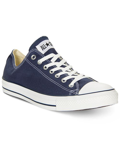 166cb576304 Converse Men s Chuck Taylor Low Top Sneakers from Finish Line ...