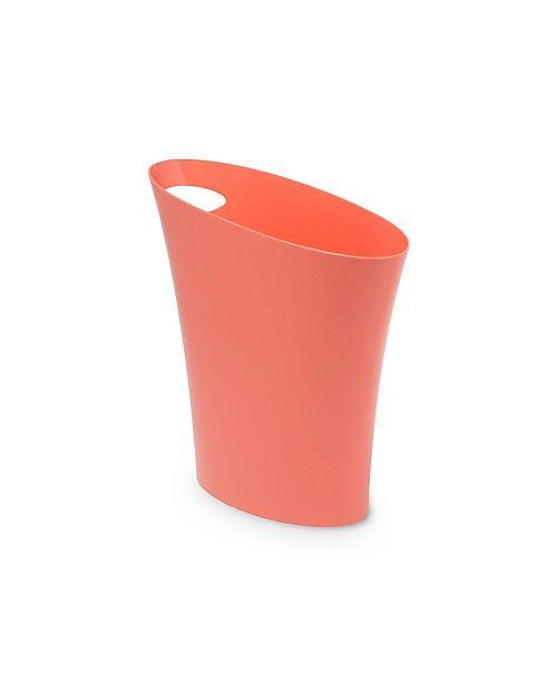 Umbra Skinny 2G Waste Basket, Coral