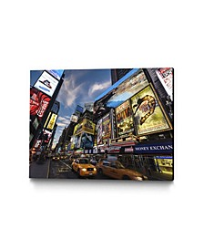 """36"""" x 24"""" Palace Theater Traffic Museum Mounted Canvas Print"""