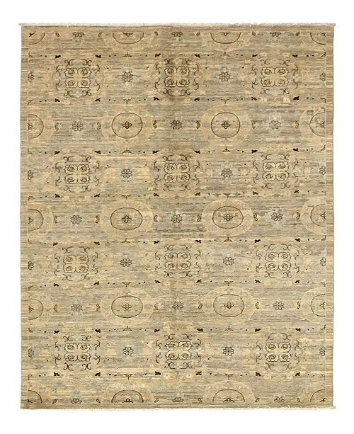 """Timeless Rug Designs CLOSEOUT! One of a Kind OOAK978 Beige 5'1"""" x 7'10"""" Area Rug"""