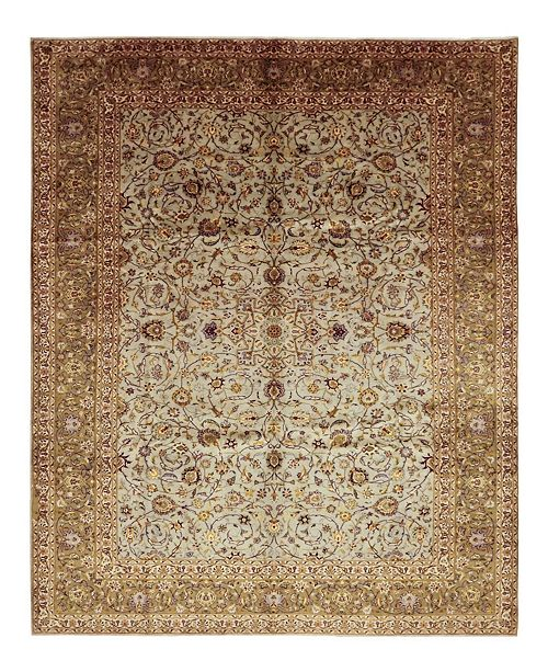 "Timeless Rug Designs CLOSEOUT! One of a Kind OOAK1455 Neutral 10' x 13'7"" Area Rug"