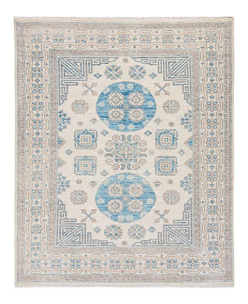 """Timeless Rug Designs CLOSEOUT! One of a Kind OOAK2034 Ivory 5'2"""" x 7'1"""" Area Rug"""