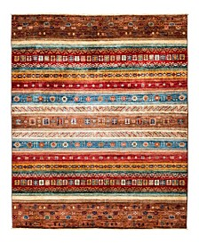 "Timeless Rug Designs One of a Kind OOAK2167 Cocoa 5'9"" x 7'10"" Area Rug"