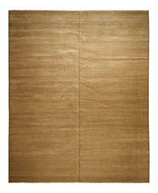 "One of a Kind OOAK2366 Caramel 9'10"" x 14'2"" Area Rug"