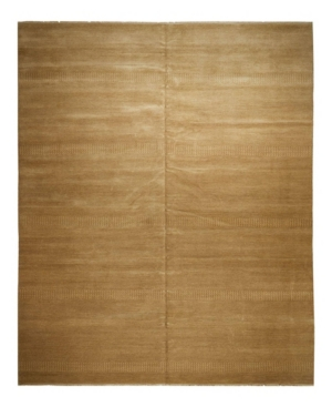 """Adorn Hand Woven Rugs One of a Kind OOAK2366 Caramel 9'10"""" x 14'2"""" Area Rug Product Image"""