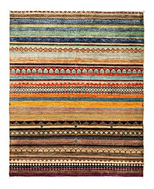"""CLOSEOUT! One of a Kind OOAK2825 Caramel 4'2"""" x 6'1"""" Area Rug"""