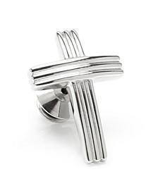 Ox Bull & Trading Co Cross Lapel Pin