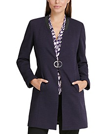 Knit Long Topper Jacket