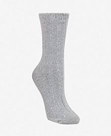 Super Soft Knit Wide Rib Boot Sock, Online Only