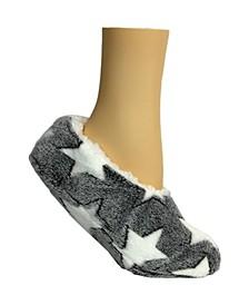 Women's Lounge Star Slipper Sock, Online Only