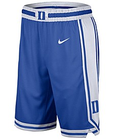 Men's Duke Blue Devils Replica Basketball Road Shorts