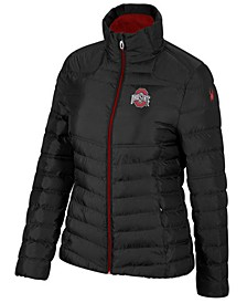 Spyder Women's Ohio State Buckeyes Supreme Puffer Jacket