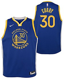 Big Boys Stephen Curry Golden State Warriors Icon Swingman Jersey