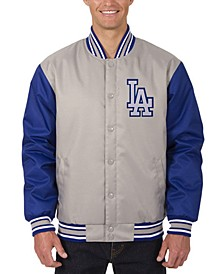 Men's Los Angeles Dodgers Poly-Twill 2 Color Jacket