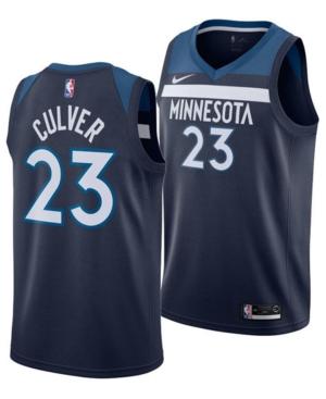 Nike Men's Jarrett Culver Minnesota Timberwolves Icon Swingman Jersey
