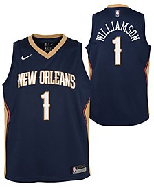 Big Boys Zion Williamson New Orleans Pelicans Icon Swingman Jersey