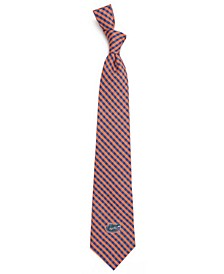 Florida Gators Poly Gingham Tie