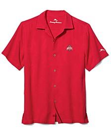 Men's Ohio State Buckeyes Al Fresco Tropics Camp Shirt