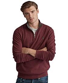 폴로 랄프로렌 스웨터 Polo Ralph Lauren Mens Jersey Quarter-Zip Pullover