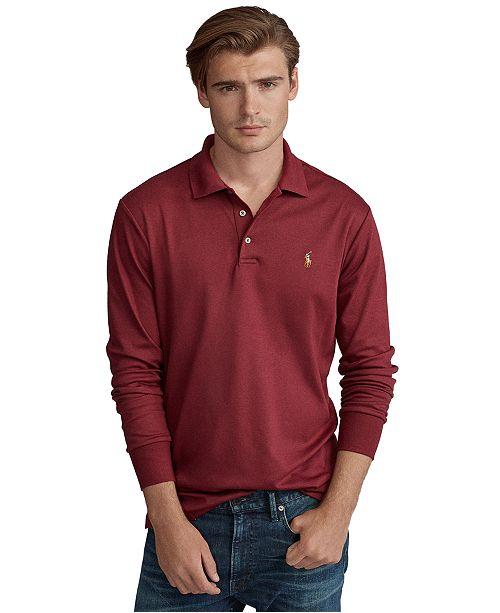 Polo Ralph Lauren Men's Long Sleeve Soft-Touch Polo Shirt