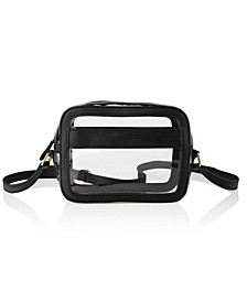 Vegan Leather Clear Stadium Crossbody