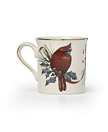Winter Greetings Cardinal Mug