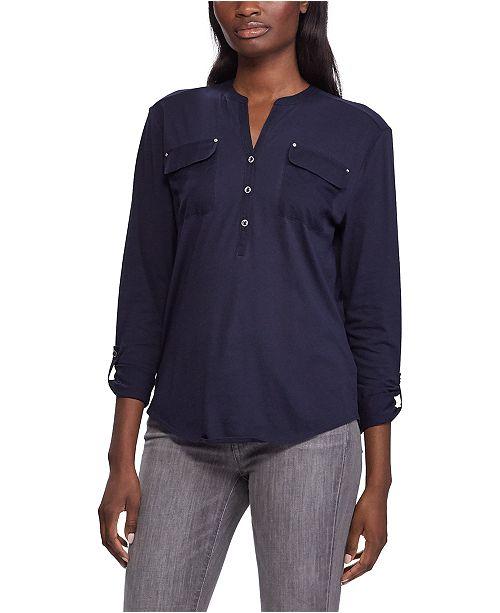 Lauren Ralph Lauren Soft Jersey Top