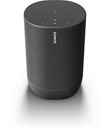 - Move Smart Portable Wi-Fi and Bluetooth Speaker with Alexa and Google Assistant