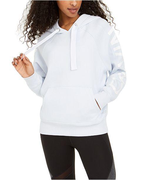 Calvin Klein Logo Fleece-Lined Hoodie