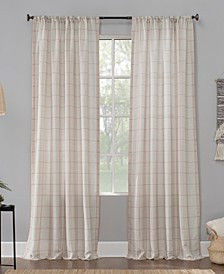 Castille Farmhouse Plaid Semi-Sheer Curtain Collection