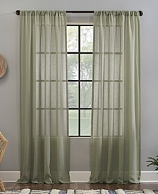 Crushed Texture Anti-Dust Sheer Curtain Collection