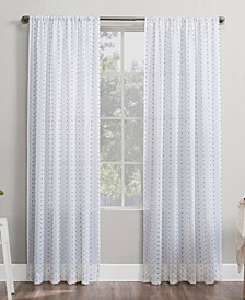 Petani Swiss Dot Semi-Sheer Curtain Collection