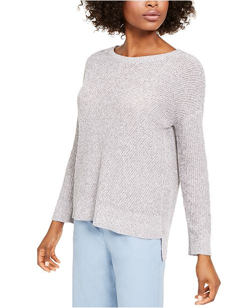 Eileen Fisher Boat-Neck Sweater, Regular & Petite Sizes