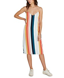 Juniors' Flavor Up Striped Dress