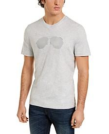 Men's Reflective Aviator T-Shirt