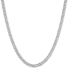 "Mariner 22"" Chain Necklace in Sterling Silver"