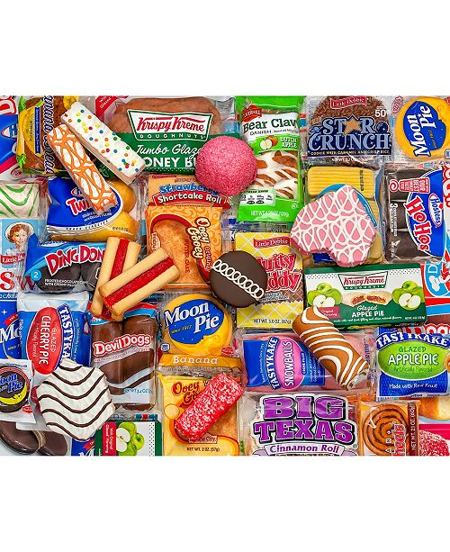 Springbok Puzzles Snack Treats 500 Piece Jigsaw Puzzle