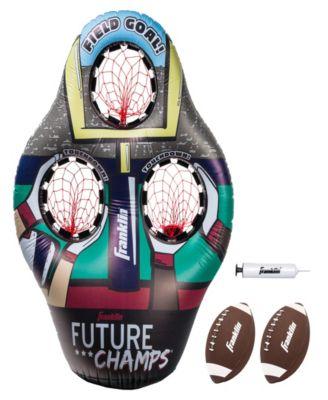 Franklin Sports Inflatable 3-Hole Kids Football Target