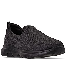 Women's GOWalk 5 Knit Walking Sneakers from Finish Line