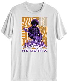 Jimi Hendrix Men's Graphic T-Shirt