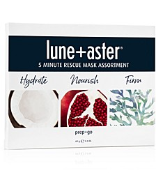 3-Pc. 5 Minute Rescue Mask Assortment Set